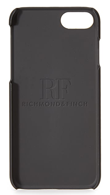Richmond & Finch Sharkskin Stripe iPhone 7 Case