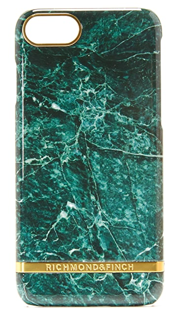 Richmond & Finch Green Marble iPhone 7 / 8 Case
