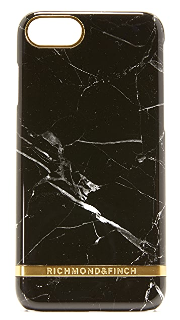 Richmond & Finch Black Marble iPhone 7 / 8 Case