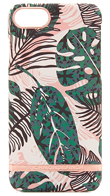 Richmond & Finch Tropical Leaves iPhone 7 Case