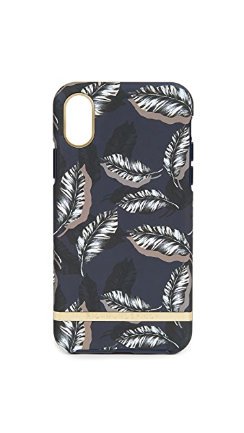 Richmond & Finch Botanical Leaves iPhone X Case