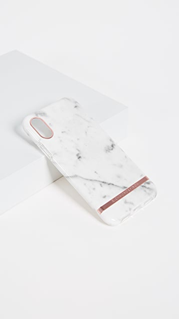 Richmond & Finch White Marble iPhone X Case