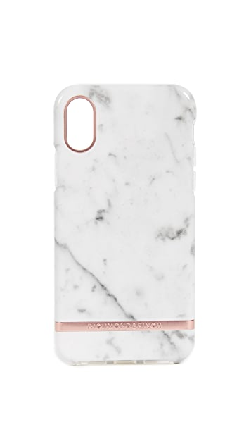 ... Richmond   Finch White Marble iPhone X Case f88134e11