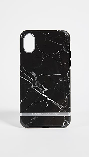 premium selection a7438 83cc8 Black Marble iPhone Case