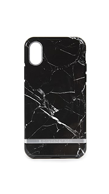 Richmond & Finch Black Marble iPhone X Case