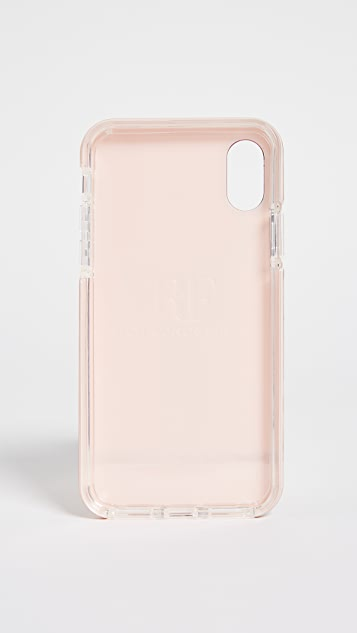 Richmond & Finch Pink Marble iPhone Case