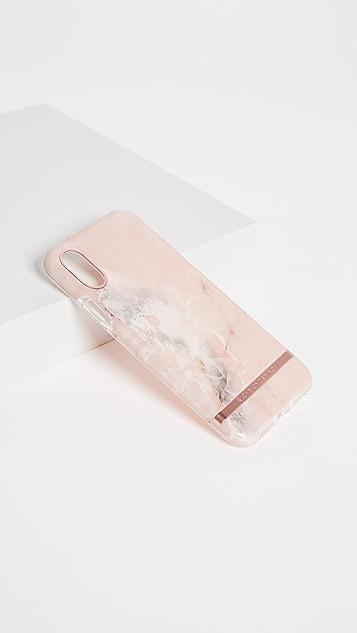 Richmond & Finch Розовый мраморный чехол для iPhone