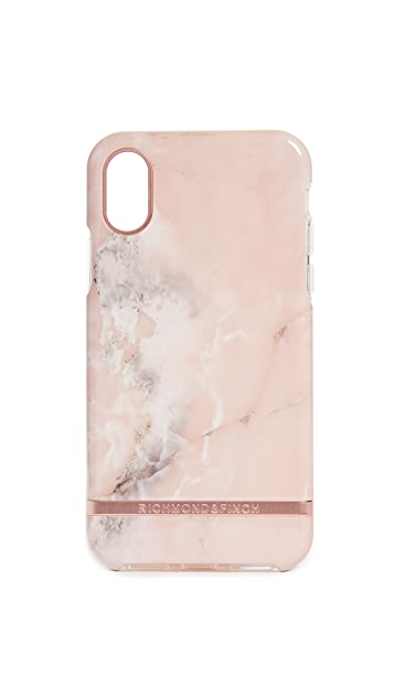 Richmond & Finch Pink Marble IPhone X Case