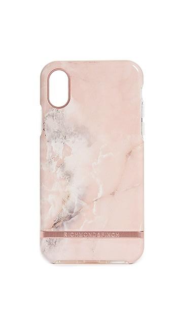 Richmond & Finch 粉色大理石纹 iPhone 手机壳
