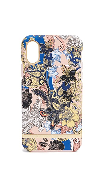 Richmond & Finch Paisley Flower iPhone X Case