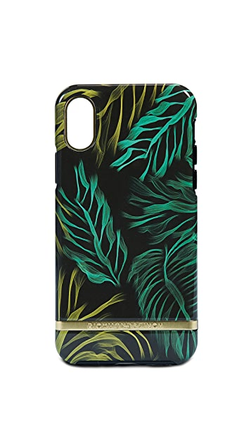 Richmond & Finch Tropical Storm iPhone X Case
