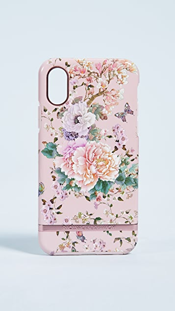 Richmond & Finch Peonies & Butterflies iPhone X Case