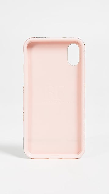 Richmond & Finch Pink Tiger iPhone XS Case
