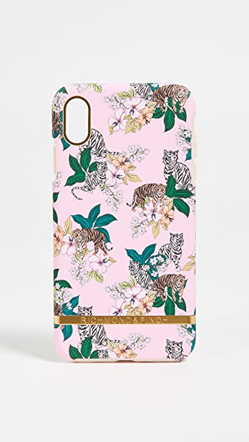 Richmond & Finch Pink Tiger iPhone XS Max Case