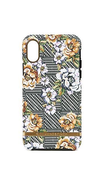 Richmond & Finch Floral Tweed iPhone XS Case