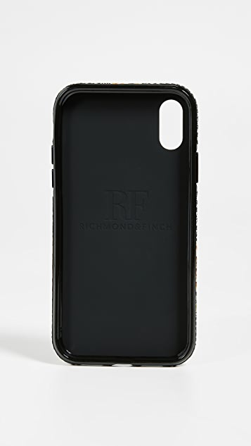 Richmond & Finch Floral Tweed iPhone XR Case