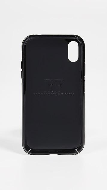 Richmond & Finch Black Marble iPhone XR Case