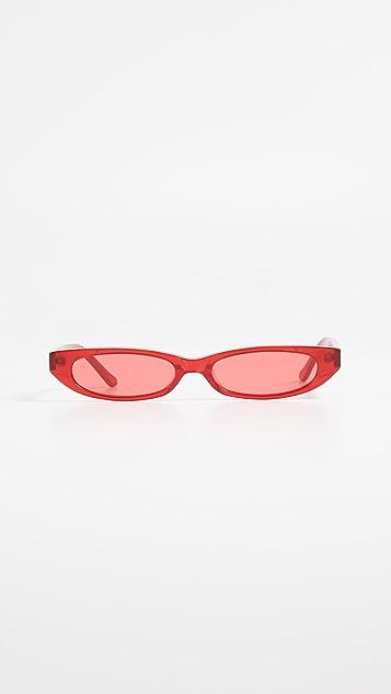 Roberi & Fraud Frances Sunglasses - Red