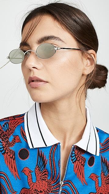Roberi & Fraud Doris Sunglasses - Silver