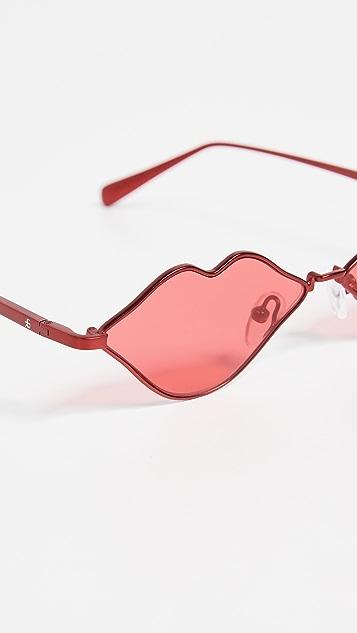 Roberi & Fraud RFxKNC Lips Sunglasses