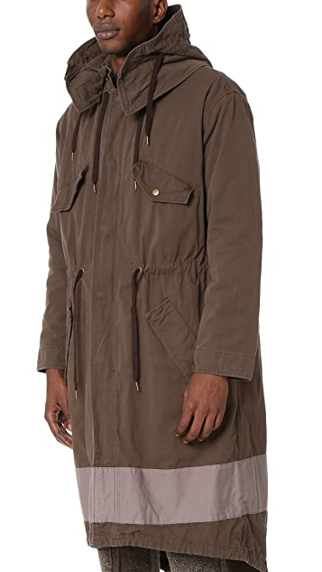 Robert Geller The Vincent Hooded Parka