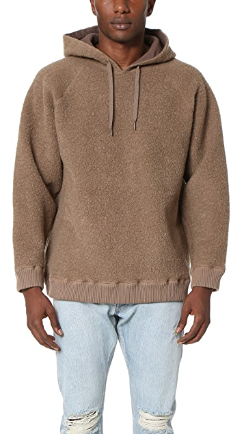 Robert Geller The Textured Hoodie