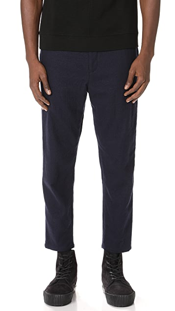 Robert Geller The Brushed Wool Pants