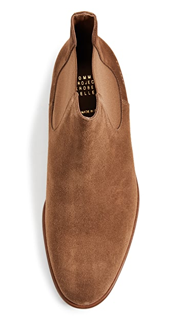 Robert Geller x Common Projects Chelsea Boots