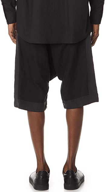 Robert Geller The Washed Linen Shorts