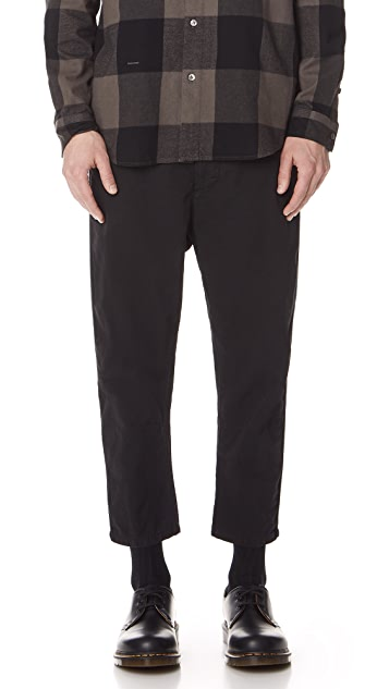 Robert Geller Bertrand Paper Cotton Pants