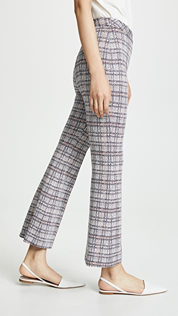 Rosetta Getty Pull On Cropped Flare Pants