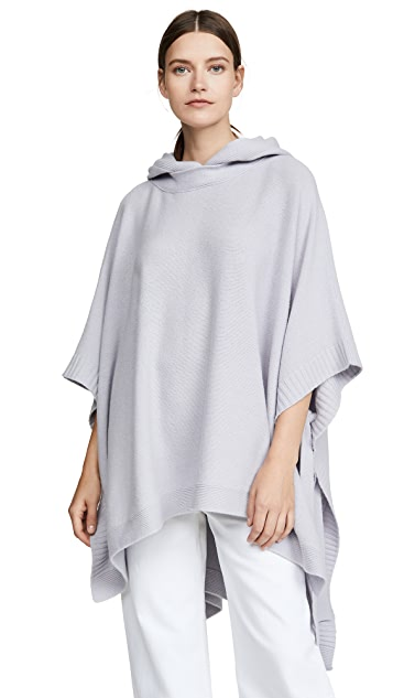 Rosetta Getty Hooded Poncho