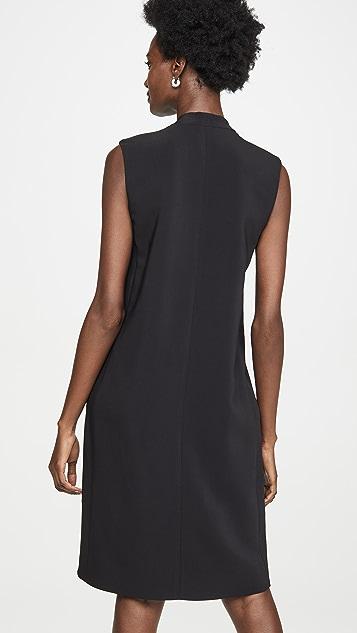 Rosetta Getty Свободное платье с молнией спереди