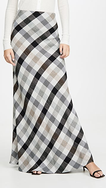 Rosetta Getty Bias Skirt