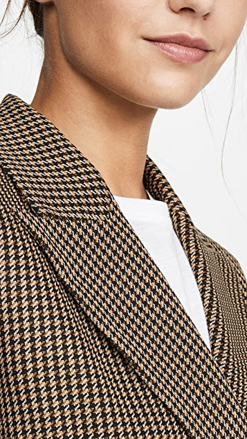 Rosetta Getty Double Breasted Peaks Lapel Jacket