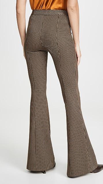 Rosetta Getty 细褶喇叭裤