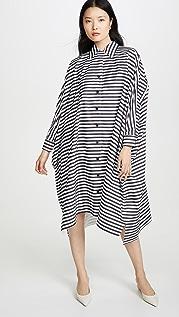 Rosetta Getty 超大长衫式衬衣式连衣裙