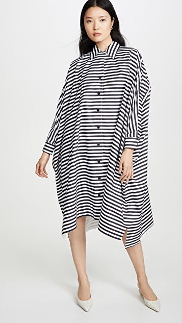 Rosetta Getty Dresses Oversized Caftan Shirtdress