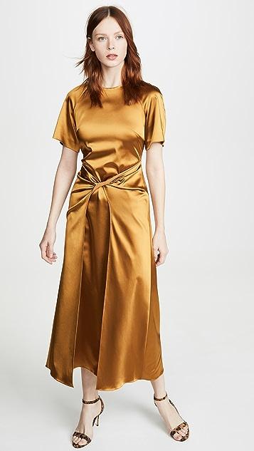 Rosetta Getty Twist Front Dress