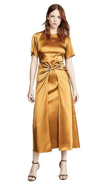Rosetta Getty 正面缠绕式连衣裙