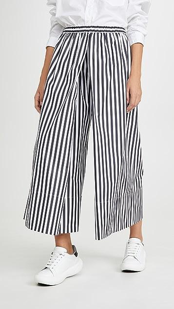 Rosetta Getty 褶皱裙裤