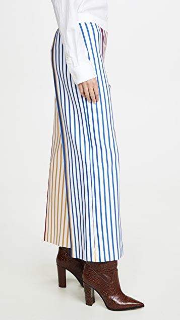 Rosetta Getty Pull On Straight Trousers
