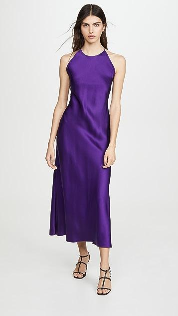Rosetta Getty Cross Back Slip Dress