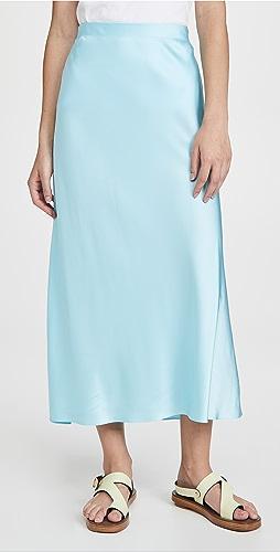 Rosetta Getty - 斜裁中长半身裙