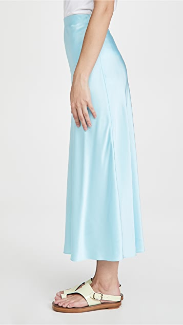 Rosetta Getty Bias Midi Skirt