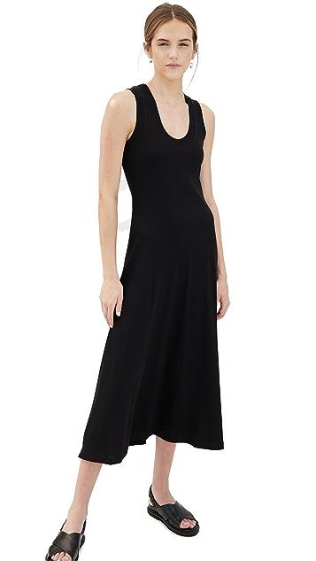 Rosetta Getty U-Neck Tank Dress