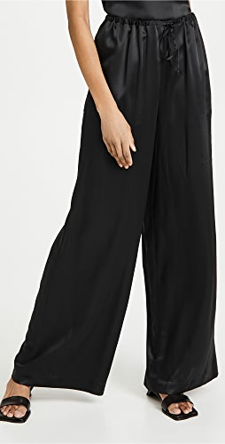 Rosetta Getty - 束带直脚长裤