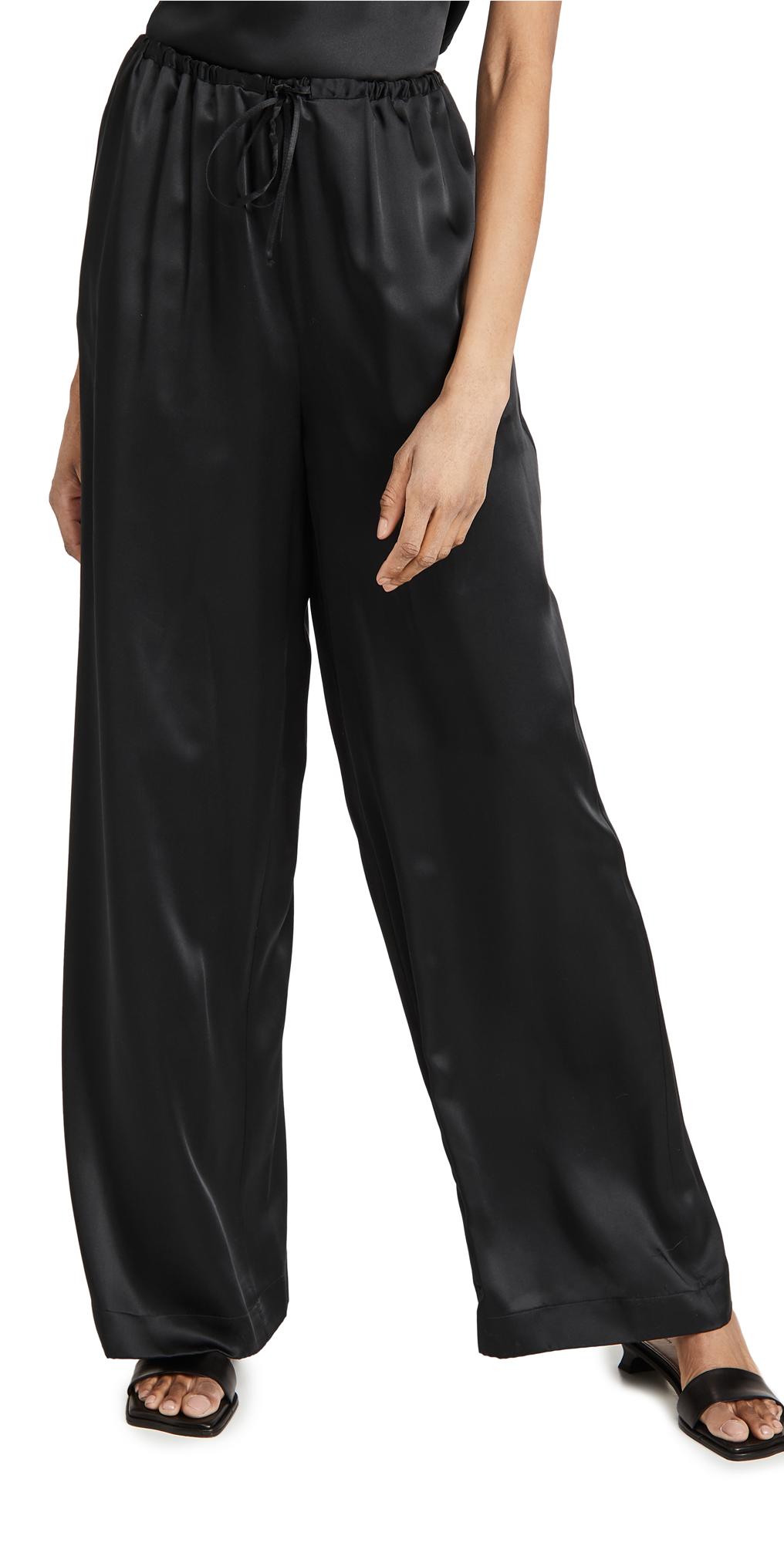 Rosetta Getty Drawstring Straight Leg Pants