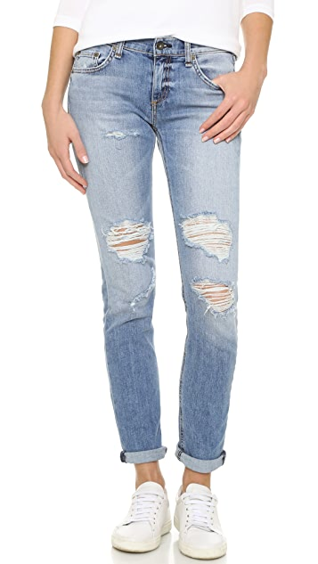 Rag & Bone/JEAN Slim Fit Boyfriend Jeans