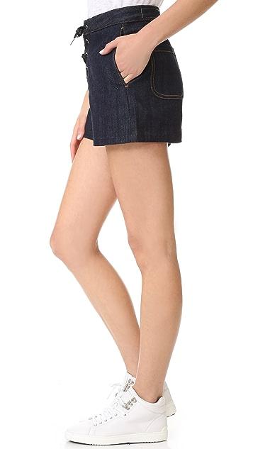 Rag & Bone/JEAN Lace Up Shorts